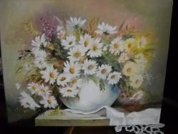 Picturi cu flori Margarete m 11