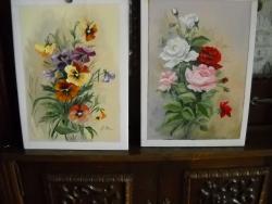 Picturi cu flori mici buchete