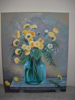 Picturi cu flori Papadii 50