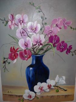 Picturi cu flori parfum de orhidee 2