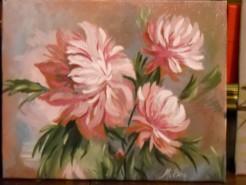 Picturi cu flori Pete de culoare