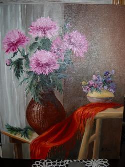 Picturi cu flori regina florilor toamnei.