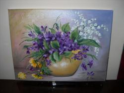 Picturi cu flori primavara 6