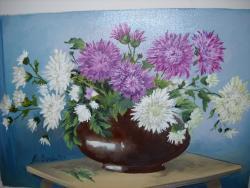 Picturi cu flori Toamna 2017