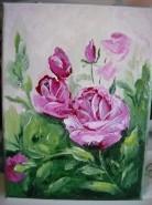 Picturi cu flori Trandafir 12