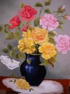 Picturi cu flori Trandafiri6