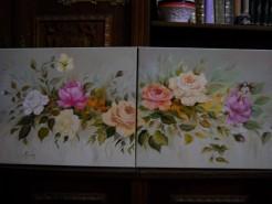 Picturi cu flori Trandafiri 15