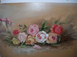 Picturi cu flori trandafiri 40
