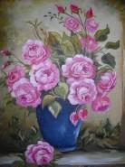 Picturi cu flori Trandafiri 5