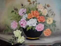 Picturi cu flori Trandafiri 8