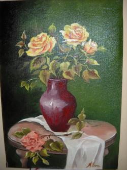 Picturi cu flori Trandafiri TR. 2