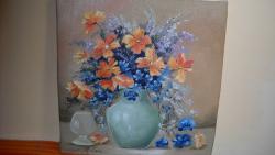 Picturi cu flori un buchet mic