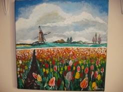 Picturi cu flori Olanda