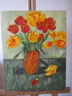 Picturi cu flori Lalele, lalele