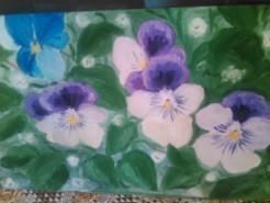 Picturi cu flori Flori salbatice