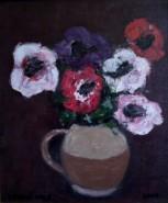 Picturi cu flori Anemone 2