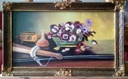 Picturi cu flori panselute 21