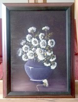 Picturi cu flori Tufanele 22