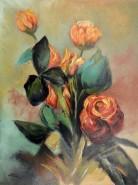 Picturi cu flori Trandafiri 01