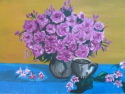 Picturi cu flori Flori, flori