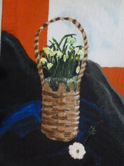 Picturi cu flori Sosirea primaverii