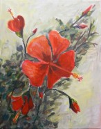 Picturi cu flori Trandafir japonez