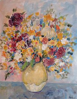 Picturi cu flori Arome tomnatice