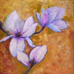 Picturi cu flori Magnolii 1