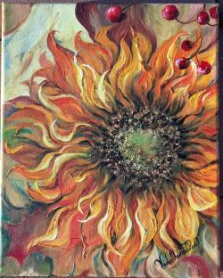 Picturi cu flori Ale soarelui