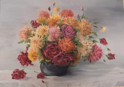 Picturi cu flori Culori inflorate