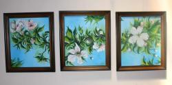 Picturi cu flori flori de mar _ crenguta