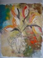 Picturi cu flori Amfora cu flori
