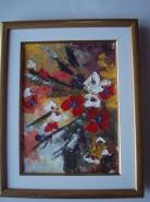 Picturi cu flori Flori absracte 1