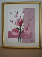 Picturi cu flori Flori abstracte 2