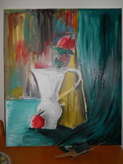 Picturi cu flori il dubio