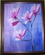 Picturi cu flori Magnolie