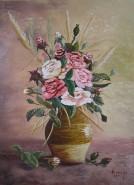 Picturi cu flori Trandafiri