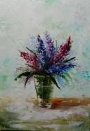 Picturi cu flori Zambile