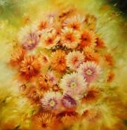 Picturi cu flori Astre