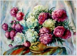 Picturi cu flori Bujori