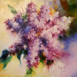 Picturi cu flori fantezie florala 1 2014
