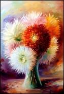 Picturi cu flori Floral fantasy