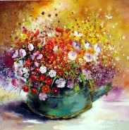 Picturi cu flori Flori de cimp 1