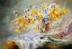 Picturi cu flori Flori de cimp 2016