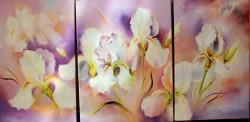 Picturi cu flori Irisi 2-