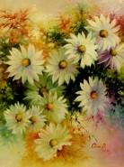 Picturi cu flori Margarete -2013