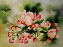 Picturi cu flori Parfum de mar 3