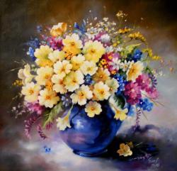 Picturi cu flori parfum de primavara 2016