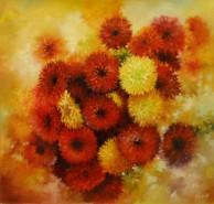 Picturi cu flori Red 1