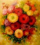 Picturi cu flori Red 2